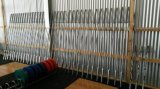 Fitness Equipment/Gym Equipment/Olympic Straight Chrome Bar