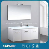 Luxury Contemporary Quality White Bathroom Cabinet with 3 Doors