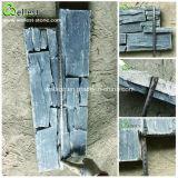 Eco-Friendly Feature Black Slate Wall Cladding Culture Stone