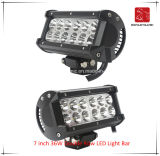 LED Car Light of 7 Inch 36W Double Row LED Light Bar Waterproof for SUV Car LED off Road Light and LED Driving Light