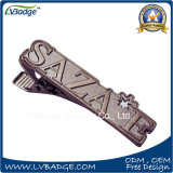 Customized Shape Logo Shirt Metal Tie Clip