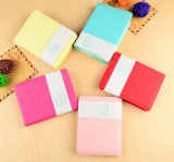 Mini Leather Notepad with Sleeves