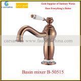 Rose Golden Water Tap Bathroom Basin Faucet