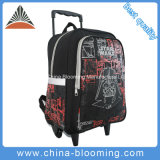 Students Rolling Backpack Star Wars Trolley Wheeled School Bag