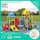 Outdoor Playground Plastic Amusement Equipment Slide for Kids