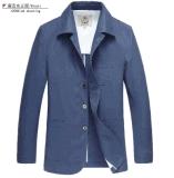 Wholesale OEM Spring/Autumn Men′s Cotton Linen Fashion Jacket