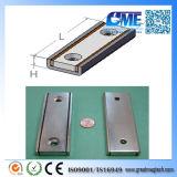 "N42 F4.50""X1.50""X0.5"" Magnetic Assembly Rectangular Neodymium Magnet"
