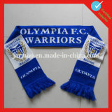Customized Acrylic Football Fans Knitted Scarf