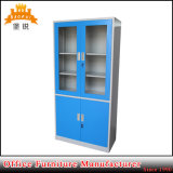 Steel Furniture Glass Door Metal Office Cupboard Filing Cabinets