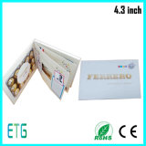 "4.3"" Inch HD/IPS Screen LCD Video Greeting Card"