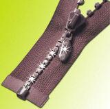Hot Products Custom Design Ningbo Metal Rhinestone Zipper