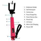 High Quality Foldable Monopod Bluetooth Selfie Stick with Zoom