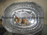 Inflight Meal Box with Aluminum Foil
