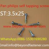 Self Tapping Screw Pan Screw Form B Thread Plastic Screw