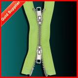 Stict QC 100% Ningbo Gun Metal Zipper