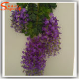 Holiday Decoration Craft Artificial Wisteria Flower
