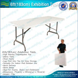 Promotional Exhibition PVC Trade Show Plastic Folding Table (B-NF18F05103)