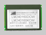 240X160 Graphic LCD Module Cog Type LCD Display (LM240160C) with Touch Screen