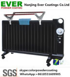 Thermosetting Electrostatic Spray Blacl Color Semi Glossy Smooth Powder Coating for Heating Radiator