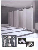Ventilative Dampproof Compact Laminate Toilet Cubicle