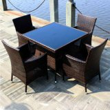 Luxury Outdoor Rattan Wicker Coffee Set Furniture