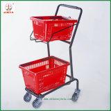 Supermarket Equipment Supermarket Use Basket Cart (JT-E13)
