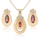 Fashion Gift Crystal Jewelry Set for Spring Summer Season