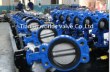 Semi-Lug Butterfly Valve with Ce ISO Wras Approved (D7L1X-10/16)