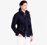 Wholesale OEM Men′s Field Mechanic Zipper Hoody Cotton Jacket