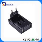 Rotatable AC Plug USB Charger Adapter with EU Plug