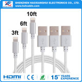 Lightning Cable iPhone Charging Charger Cable for iPhone X / 8 / 8 Plus / 7 / 7 Plus / 6 / 6 Plus /