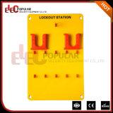 Elecpopular Good Insulativity Yellow 10 Padlocks portable Safety Lockout Tagout Station