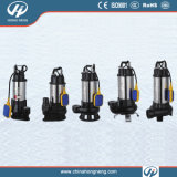 V Seires Stainless Steel Submersible Sewage Water Pump