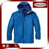 2015 Mens Shiny Blue Nylon Waterproof Winter Down Jacket