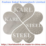 201 304 Embossed Finish Cold Rolled Stainless Steel Sheet