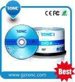 OEM Logo Printing 4.7GB 120min Virgin Material Blank DVD-R