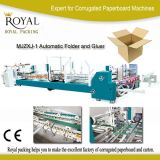 Mjzx-1 Automatic Gluer and Strapping Machine Automatic Folder and Gluer