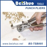 Eyelets Rivet Drilling Hand Pliers with 100 Grommets Eyelets