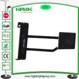 Powder Coated Metal Gridwall Display Hook with Price Tag