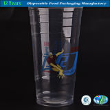 PP Clear Plastic Cup with Customized Logo