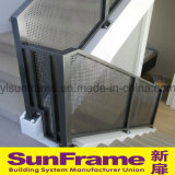 Aluminium Honeycomb Pattern Balustrade for Staircase