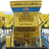 Automatic Js750 (35m3/h) Portable Cement Mixer for Sale