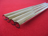 High Purity Gold Plated Quartz Glass Tube