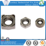 Stainless Steel Square Weld Nut Passivated