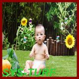 Longlife Using Artificial Grass for Decoration