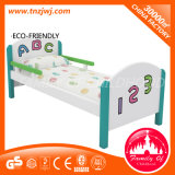 Low Baby Bed Kindergarten Kid School Sleeping Wooden Bed