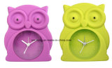 3D Number Time Scale Snooze Mute Silicone Mini Table Alarm Clocks for Students