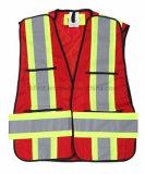 Hi-Visibility Safety Vest with Magic Tape Shoulder (DFV1083)