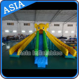 Inflatable Elephant Water Slide with Pool Water Park