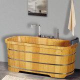Hot Sales Beauty Salon Wooden Medicated Bath Tub (NJ-054)